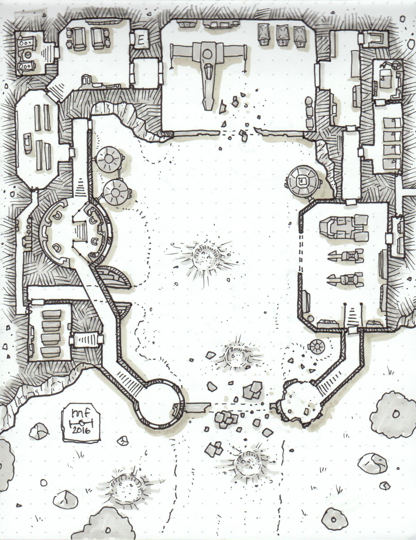Space Station Deck Plans