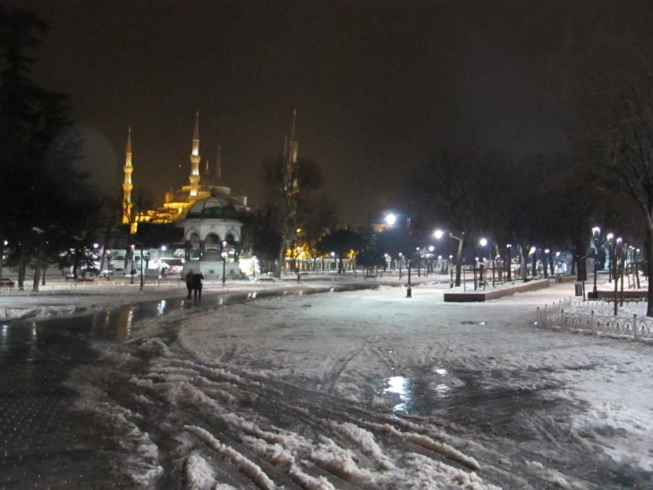 Sultanahmet, a week before the attacks.