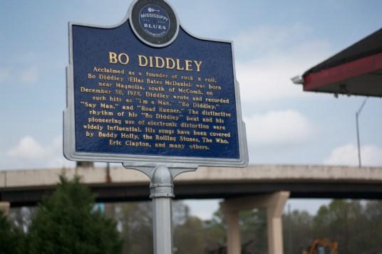 Bo Diddley Blues Marker