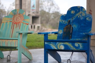Downtown Painted Chairs