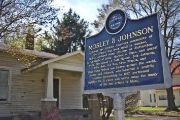 Mosley & Johnson Blues Marker