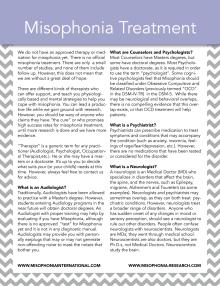 Print 2 Misophonia Treatment
