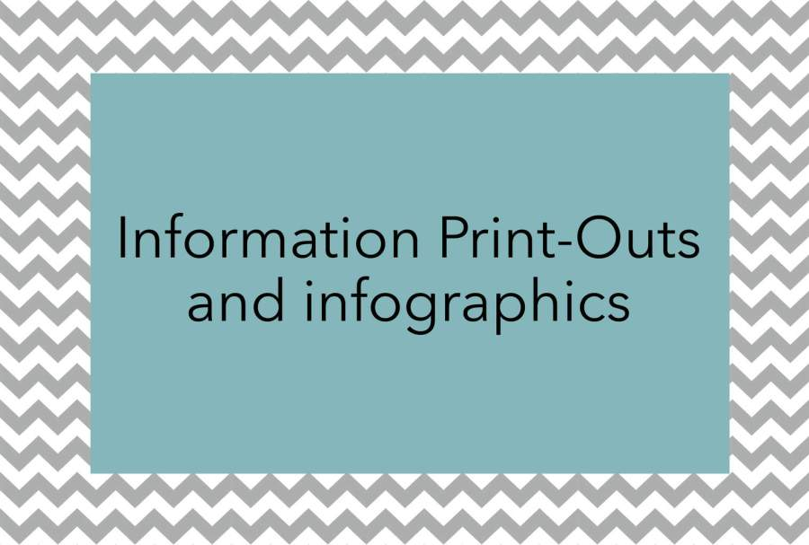 misophonia print outs and infographics