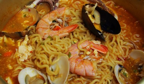 Korean Seafood Ramen