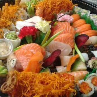 Party Tray PT2 Sashimi & Maki Menu