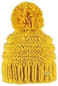 Barts 15-0000001034 – Cache-Oreilles Femme, Jaune (Gelb) – Taille Unique (Taille fabricant: One Size)
