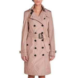 Burberry Femme 45404254910200 Rose Polyester Trench Coat