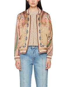 Scotch & Soda Maison Reversible Print Jacket, Veste Bomber Femme, Mehrfarbig (Combo P 95), Small