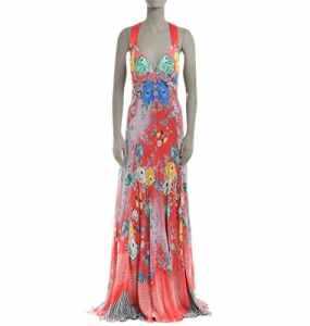 Etro Femme 152034522600 Multicolore Soie Robe