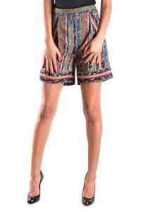 Philosophy Femme A03087301555 Multicolore Soie Shorts