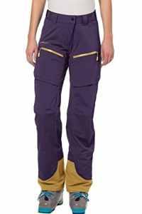 Vaude Hose Womens Boe Pants–Pantalon de pluie pour femme, Hose Womens Boe Pants, rose