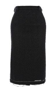 Vetements Femme Wah18sk5 Noir Acrylique Jupe