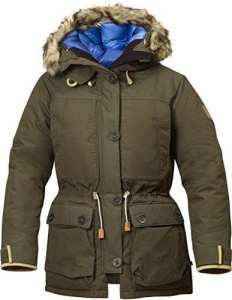 FjallRaven Doudoune Expedition Down Parka No.1 W Dark Olive X-Large