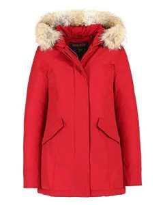 Woolrich – Blouson – Parka – Femme Noir noir Medium Rouge rouge 42