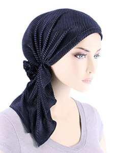 EINSKEY Turban femme, Élégant bonnet bandana pour douche, musulman, maquillage, chimio, chute de cheveux etc.