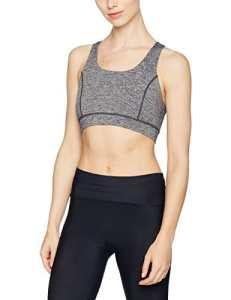 Skiny Yoga & Relax Bustier, Haut de Pyjama Femme, Mehrfarbig (Black Grey Melange 5781), 38