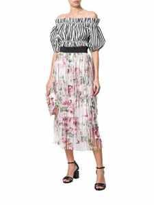 Dolce E Gabbana Femme F4a6ztgdh82hah41 Rose Polyester Jupe