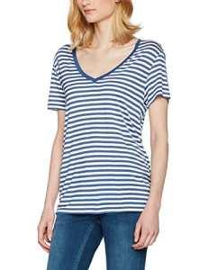 Levi's Perfect Vneck Tee, T-Shirt Femme, Bleu (Willow Dutch Blue), X-Small