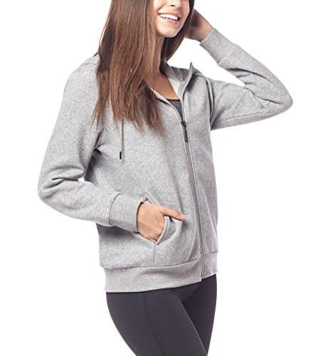 check-out 39e4c 38e47 Lapasa Femme Sweat à Capuche Zippé Veste Sweatshirt Gilet ...