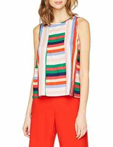 Compañia Fantastica – SP18HAN66 – Blouse – Femme – Multicolore (Rayures) – Taille: XS