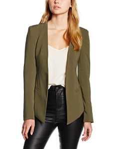 James Jeans V-Blazer, Tailleur-Pantalon Femme, Vert-Green (Military Green), 36