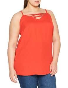 New Look Curves X Front, Débardeur Femme, Red (Bright Red 60), 52