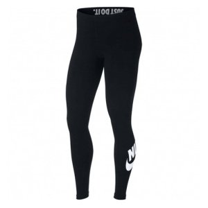 Nike AH2010-010 Collant Femme, Noir/Blanc, FR : S (Taille Fabricant : S)