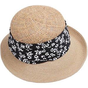 YXINY Casquettes visières Nouveaux Produits Protection Solaire Chapeau De Paille Holiday Leisure Holiday Sunhat Femme Accessoires Casquettes bonnets et chapeaux