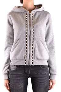 Philipp Plein Femme Mcbi237021o Gris Coton Sweatshirt