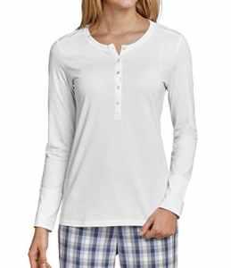 Schiesser Haut de pyjama – Femme – Blanc – 38
