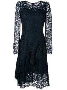 Dolce E Gabbana Femme F62e9tflm55b0665 Bleu Viscose Robe