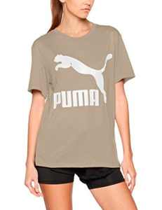 Puma 575067 17 Shirt Femme, Gris (Rock Ridge), FR : M (Taille Fabricant : M)