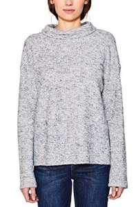 Esprit 107ee1j001, Sweat-Shirt Femme, Gris (Light Grey 5 044), Large