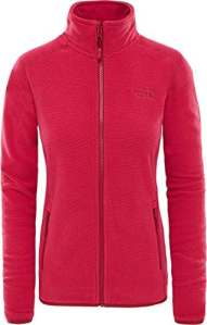 The North Face Wo 100 Glacier Pull Femme, Rumba Red/Ceris, FR : 2XL (Taille Fabricant : XXL)