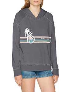 Rip Curl Endless Summer Fleece Sweatshirt Femme, Asphalt, FR : L (Taille Fabricant : L)