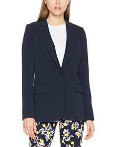 Tommy Hilfiger Jillian Sb Blazer, Veste De Costume Femme, Bleu (Peacoat 443), 40 (Taille fabricant: 10)