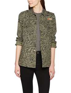 Volcom Pretty Wild Jacket Manteaux Blousons et Vestes Femme, Army Green Combo, FR : X-Small (Taille Fabricant : XS)