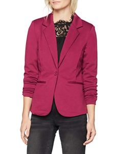ICHI Kate BL, Veste de Costume Femme, Rouge (Raspberry Radiance 16766), 42 (Taille du Fabricant: Large)