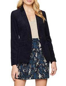 Esprit 108ee1g010, Veste De Costume Femme, Bleu (Navy 400), 44 (Taille Fabricant: 42)