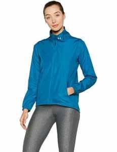 Under Armour Women's International Jacket – Bayou Blue, Medium