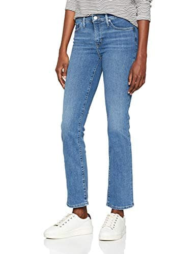 Levi's 314 Shaping Straight, Jean Droit Femme, Bleu (Bright Sky 0071), W30/L30 (Taille Fabricant 30)