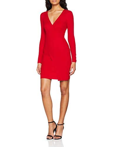 Morgan 182-RMCACH.N, Robe Femme, Rouge (Tango Red 500), Large (Taille Fabricant: TL)