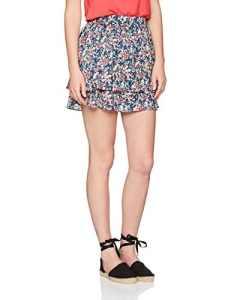 Only Onlnaya Short Skirt Box Wvn, Jupe Femme, Multicolore (Night Sky Aop:Rose Ditsy), 38