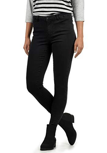 Vero Moda Jenna Jeans Denim Pantalon Strech Femme Skinny Fit, Couleur:Black, Taille:XS/ L30