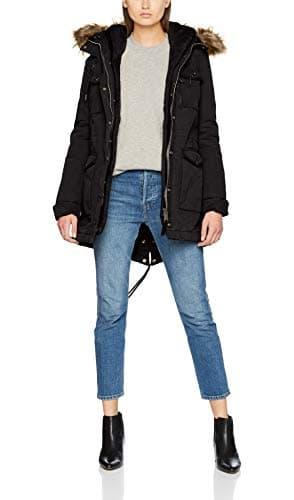 Schott NYC JKTHALLW, Veste de Sport Femme, Noir (Black2 Bla2), Taille Fabricant: M