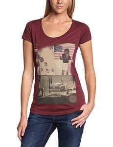 Volcom T-shirt noatak Disorder manches courtes M Bordeaux