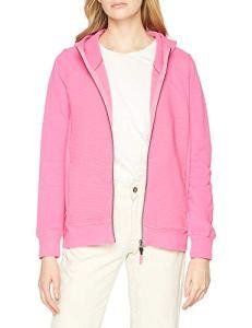 Cecil 252827, Veste Sweat Femme, Rose (Bubblegum Pink 11599), Small