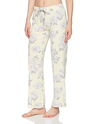 PJ Salvage Femme RHSDP1 Bas de pyjama – jaune – X-Large