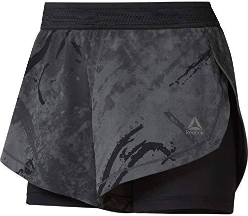 Reebok Cbt Epic Kickboxing Short Pantalon Femme, Noir, S