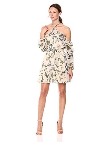 BB Dakota Femme BI308892 Robe – Beige – Taille XS